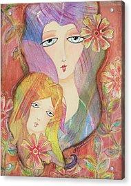 Mothers Love Acrylic Print by Joann Loftus