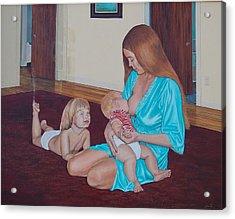 Mother's Milk Acrylic Print