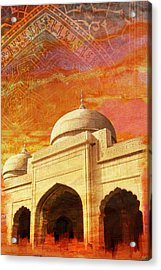 Moti Masjid Acrylic Print by Catf