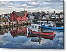 Motif 1 Sky Reflections Acrylic Print by Jeff Folger