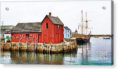 Motif Number 1 Rockport Ma Acrylic Print by Jack Schultz