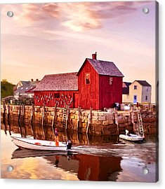 Motif Number One Rockport Massachusetts  Acrylic Print