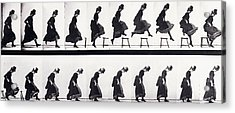Motion Study Acrylic Print