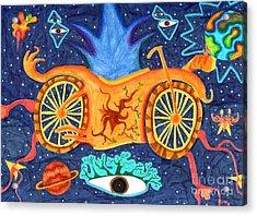 Motoria Acrylic Print by Alfonso  Furrer