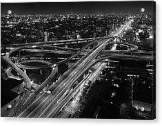 Motorway Acrylic Print