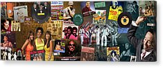 Motown Music Panoramic Acrylic Print