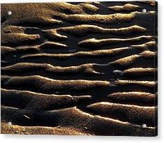 Moulded Sand Acrylic Print