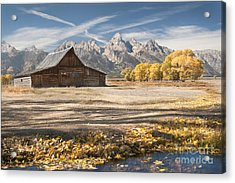 Moulton Barn Autumn Acrylic Print