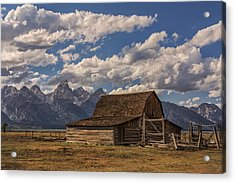 Moulton Barn - Grand Teton National Park Wyoming Acrylic Print