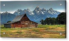 Moulton Barn Morning Acrylic Print