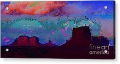 Acrylic Print featuring the photograph Moument Valley 2 by Julie Lueders