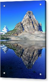Mount Assiniboine And Sunburst Peak Acrylic Print