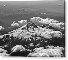 Acrylic Print featuring the photograph Mount Baker by Inge Riis McDonald