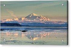 Mount Baker North Cascades National Park Acrylic Print by Pierre Leclerc Photography