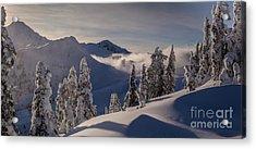 Mount Baker Snowscape Acrylic Print by Mike Reid