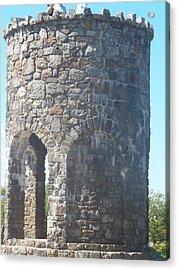 Mount Battie Stone Tower II Acrylic Print by James Potts