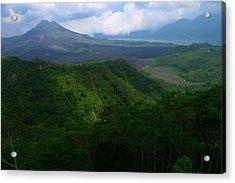 Mount Batur Bali Acrylic Print