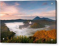Mount Bromo Sunrise Acrylic Print