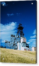 Mount Con Mine 2 Butte Mt Acrylic Print by Kevin Bone
