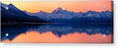 Mount Cook, New Zealand Acrylic Print by Daniel Murphy