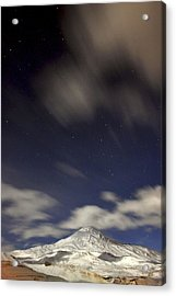 Mount Damavand At Night Acrylic Print by Babak Tafreshi