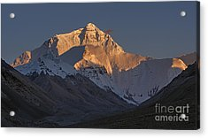 Mount Everest At Dusk Acrylic Print