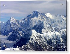 Mount Everest  Acrylic Print by Jacqi Elmslie