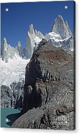 Acrylic Print featuring the photograph Mount Fitzroy Patagonia by Rudi Prott