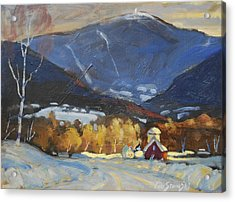 Mount Greylock From Williamstown Acrylic Print