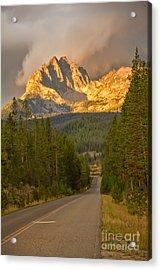 Mount Heyburn Acrylic Print by Robert Bales