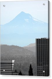 Mount Hood In Fall Acrylic Print
