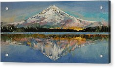 Mount Hood Acrylic Print by Michael Creese