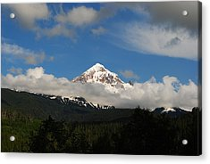 Mount Hood Oregon Acrylic Print by Robert  Moss
