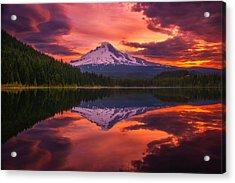 Mount Hood Sunrise Acrylic Print