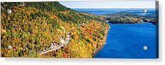 Mount Jordan Pond, Acadia National Acrylic Print by Panoramic Images