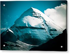 Mount Kailash Home Of The Lord Shiva Acrylic Print
