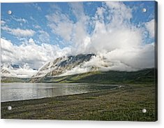 Acrylic Print featuring the photograph Mount Kaputyat by Ben Shields
