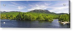 Mount Katahdin And The West Branch  Acrylic Print