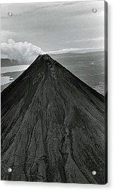 Mount Mayon Volcano Acrylic Print