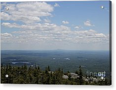 Mount Monandock Summit View Acrylic Print