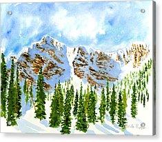Mount Ogden Acrylic Print