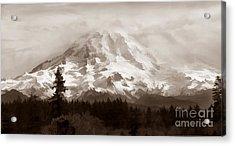 Mount Rainer Acrylic Print