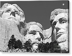 Mount Rushmore Acrylic Print by Alex Cassels