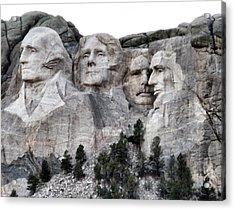 Mount Rushmore National Memorial Acrylic Print by Patricia Januszkiewicz