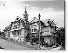 Mount Saint Mary College Whittaker Hall Acrylic Print by University Icons
