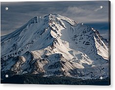 Mount Shasta Close-up Acrylic Print by Greg Nyquist