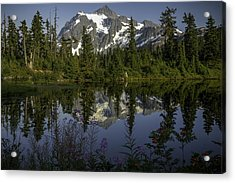 Mount Shuksan Acrylic Print by Jean-Jacques Thebault