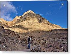 Mount Sinai Acrylic Print