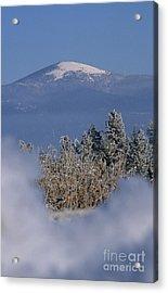 Mount Spokane Acrylic Print by Sharon Elliott