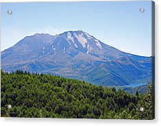 Mount St. Helens And Castle Lake In August Acrylic Print